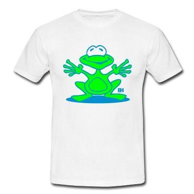 Frog T-shirt #Spreadshirt #Cardvibes #Tekenaartje #SOLD