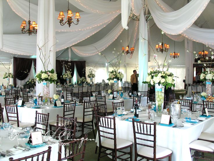 wedding tents wedding decoration toronto - Gray Canopy Decoration