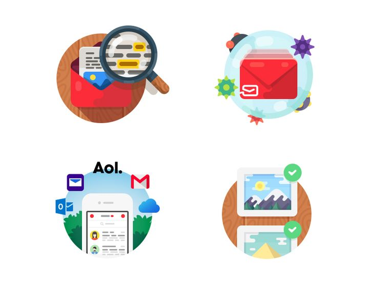 myMail Icons: Restyling / Evgeniy Dolgov for Mail.Ru