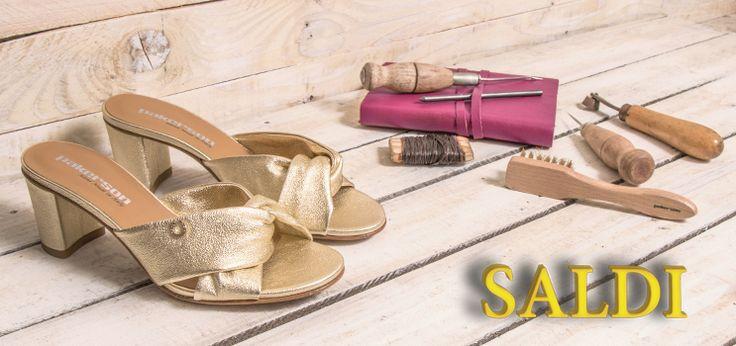 Tempo di #SALDI D'ESTATE nelle boutique Pakerson! Tutte le scarpe sono scontate fino al 50%! Enjoy our SUMMER #SALE at Pakerson Boutiques! All shoes are up to 50% off!