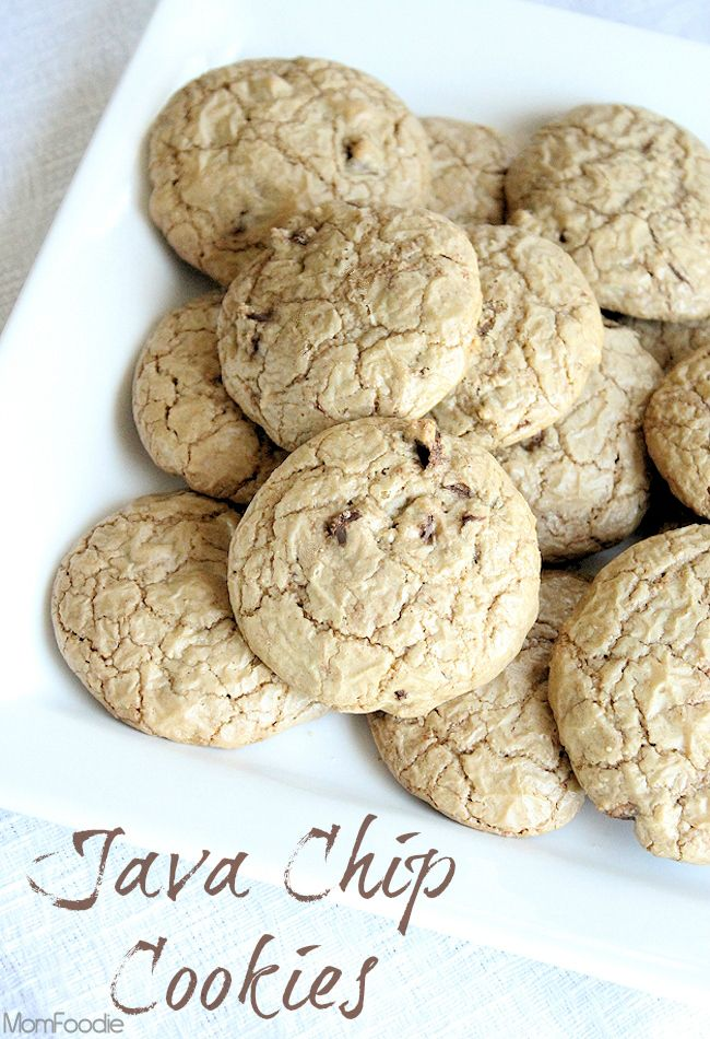 Brown Butter Java Chip Cookies (lower fat, but tons of flavor) a suped up version of   @Cooking Light recipe makeover