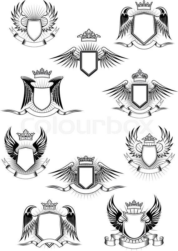 Best Crests Images On   Coat Of Arms Crests And
