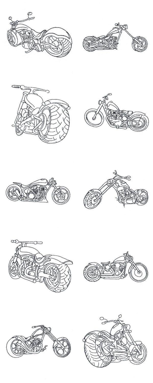 Bike Week 2015 Chopper Fever Embroidery Machine Design Details