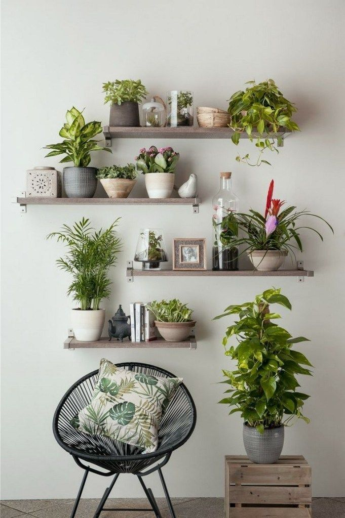 Modern And Elegant Flower Pot Ideas For Vertical Walls 50 Flower Pot Ideas Home Acce In 2020 Plant Decor Indoor House Plants Decor Vertical Wall Planter Pots