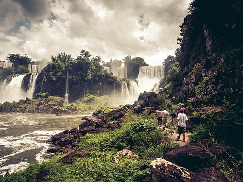 Iguazu Falls - Brazil - Its funny how often you forget how beautiful this world really is.