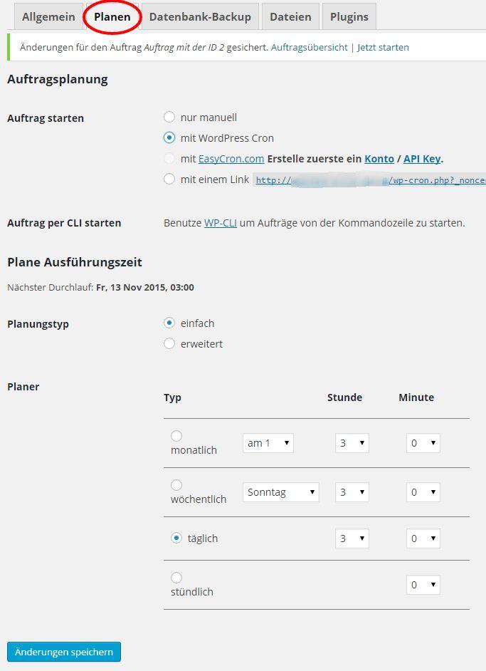 #Backups deiner WordPress-Installation sind deine Rückversicherung für den Notfall - dein Netz mit doppeltem Boden. Erfahre hier wie es geht.