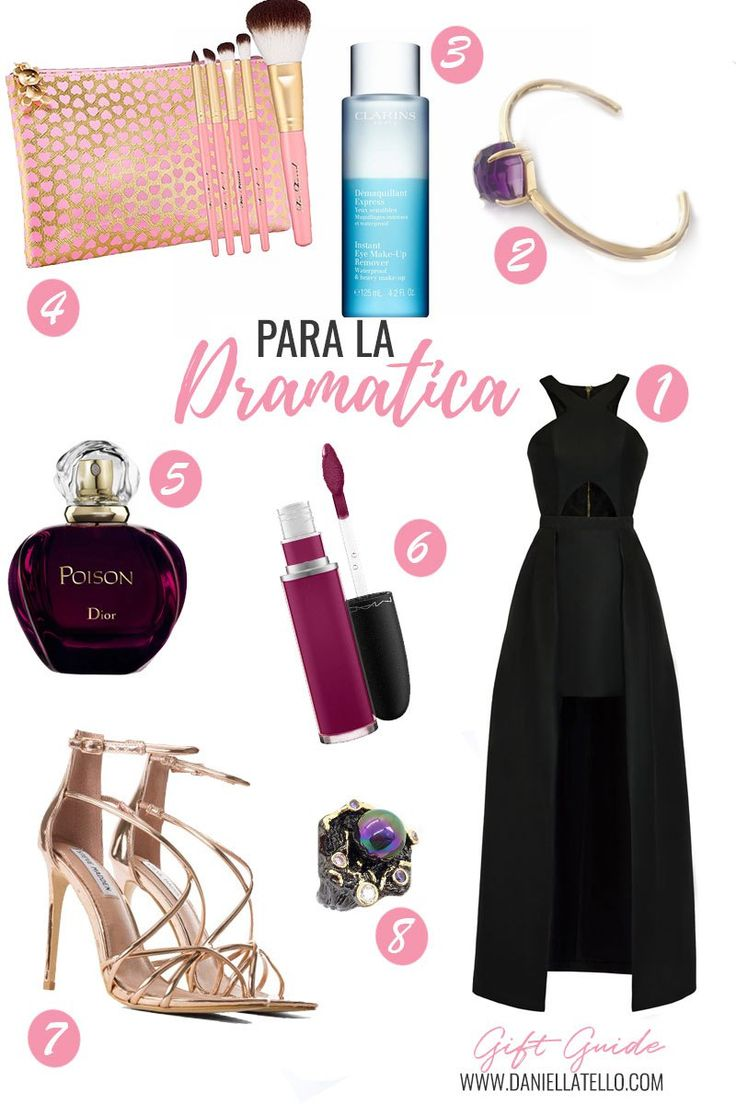 2017 Gift Guide The Dramatic Para la Dramatica by Daniella Tello Do you have any Dramatics in your life? Our gift guide might help! We have great suggestions for you below or you can check out the rest of our gift guides.