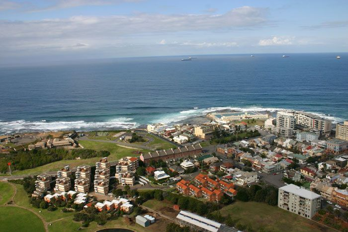 Newcastle Australia From the Air Visit us on http://www.belledental.com.au