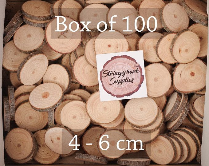 100 Discount Woodslices Assorted Pack Of Wood Slices Tree Slices Branch Slices Bulk Wood Slices Wood Rounds 100 Wood Slice Seconds Wood Slices Large Wood Slices Wood