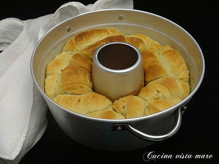 Pane sfogliato nel fornetto Versilia Cucina vista mare