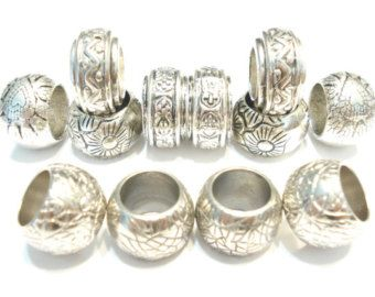 12pcs 5 style silver tone scarf rings scarf jewelry accessory receive 2 to 5 days Free Shipping In US