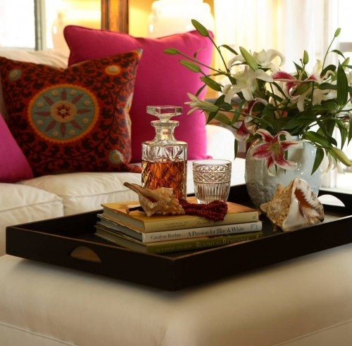 Elegant Decorating Ideas With Trays   Sortrature