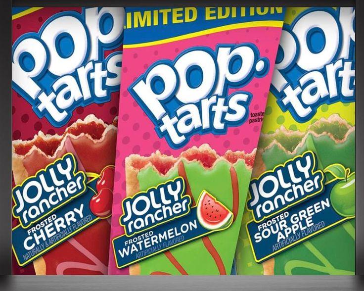 Jolly Rancher PopTart Flavors