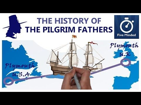 The History of The Pilgrim Fathers, Thanksgiving and The Mayflower - Animated Narration for Kids - YouTube
