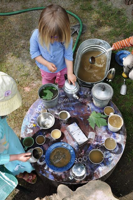 Stomping in the Mud - awesome mud/outdoor play ideas!