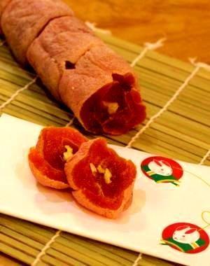 干し柿レシピ・作り方の人気順|簡単料理の楽天レシピ 干し柿の香り巻き