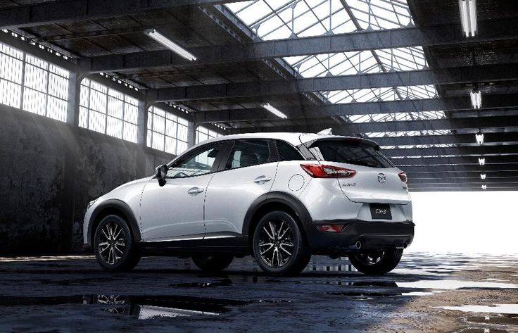 Rear 3/4 Left of the 2016 Mazda CX-3