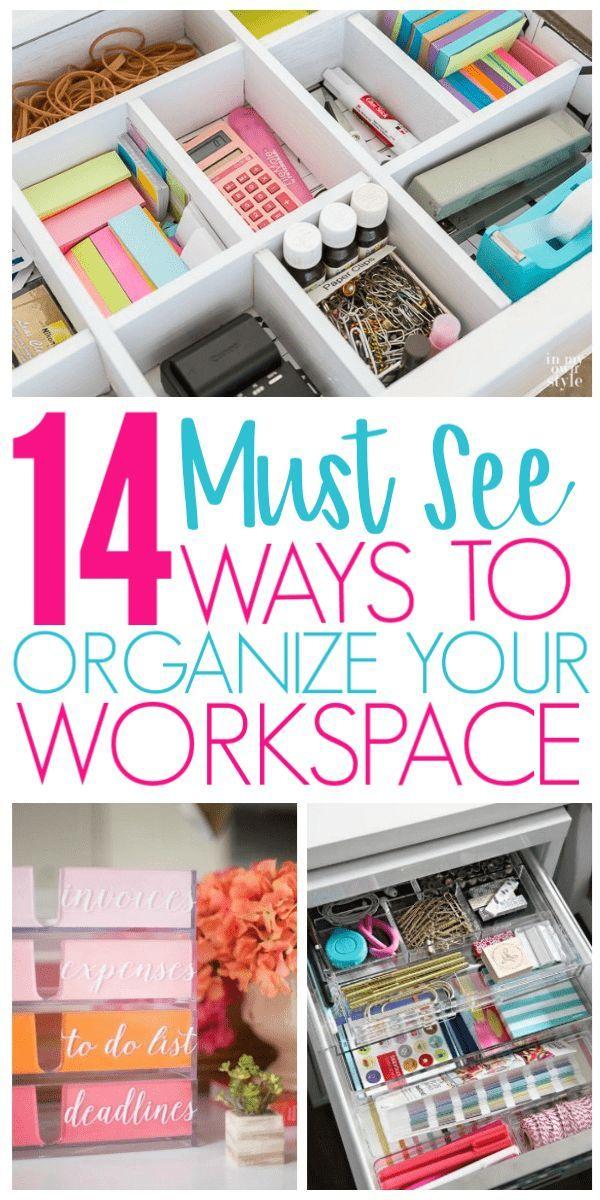 14 Desk Organization Hacks To Improve Your Productivity