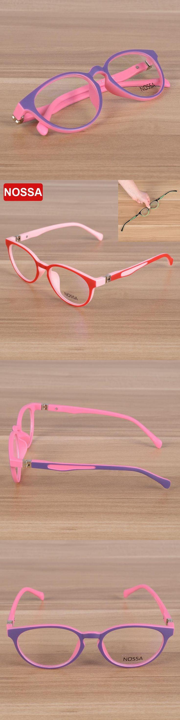 NOSSA Brand Quality TR90 Children Optical Frame Eyewear Eyeglasses Girls Boys Kids Myopia Glasses Frames Kids Eyeglasses Frame