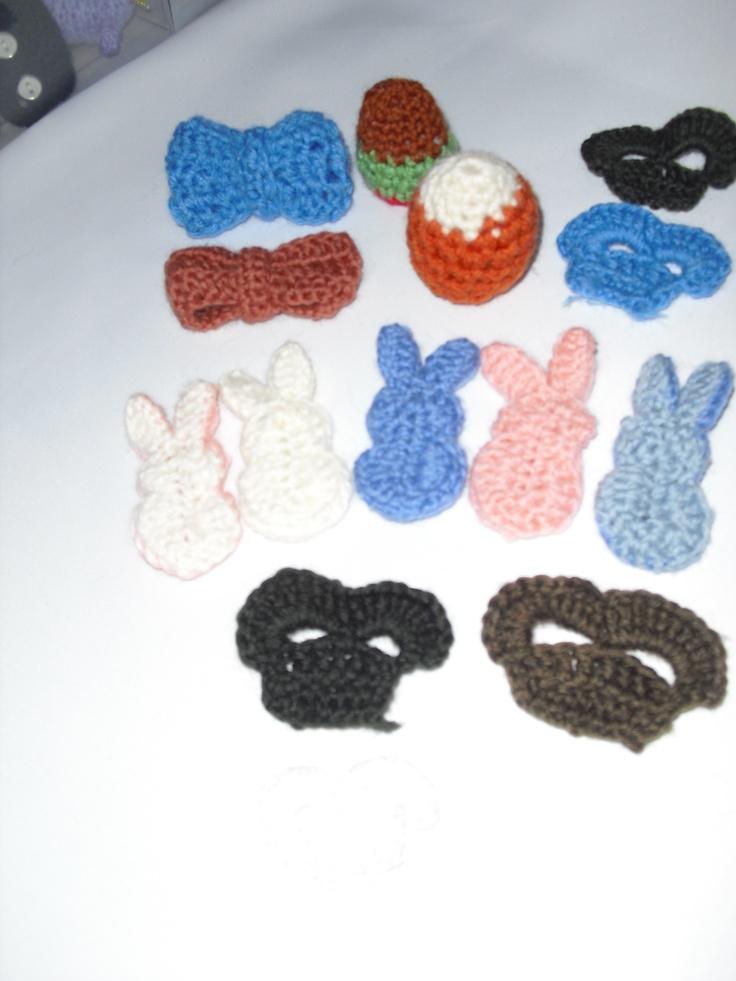 Bunnies, bows, eggs, and skulls