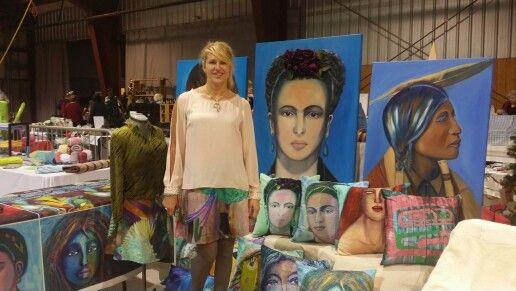 Anelia with art