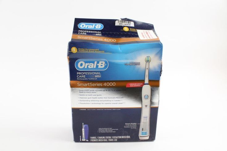 Oral-B Professional Care Rechargable Toothbrush  Smart Series 4000