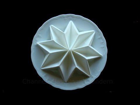 60 best images about folding napkins on pinterest - Serviette Falten Weihnachten