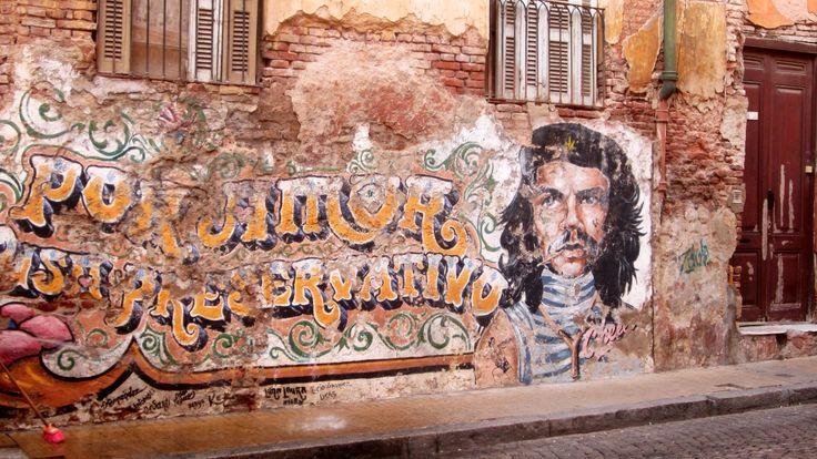 Physical graffiti (La Boca, Buenos Aires)