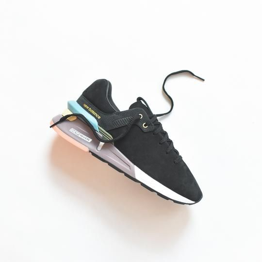 New Balance By Tokyo Design Studio 997 Sport Black Nubuck Leather Sneakers Shoes Mens