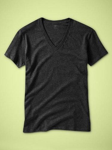 Gap Mens The New Deep V-Neck T-Shirt