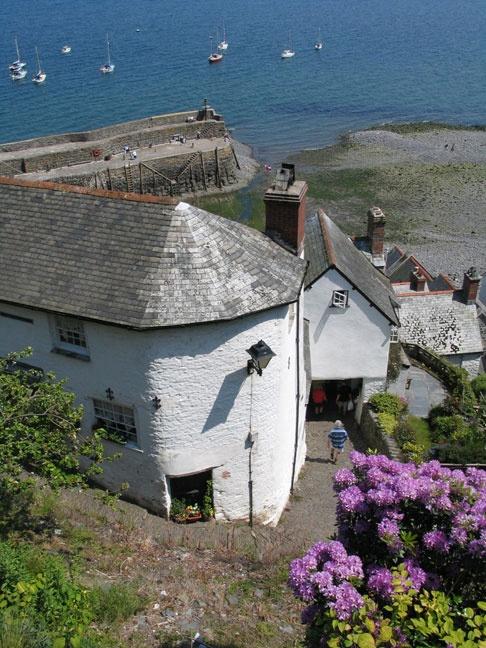 Clovelly, North Devon - Temple Bar Cottage