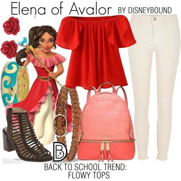 Disney Bound - Elena of Avalor