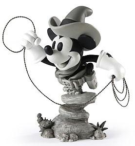 Two Gun Mickey - Cowboy Mickey - Bust - Walt Disney Mini Busts - World-Wide-Art.com - $65.00 #Disney #Mickey
