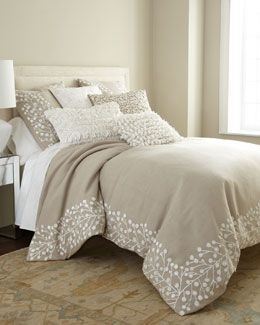 neiman marcus comforter and bedding on pinterest. Black Bedroom Furniture Sets. Home Design Ideas