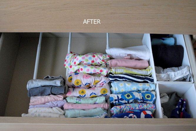 プチプラグッズで子供服の収納 | おのぼり主婦の暮らす見聞録