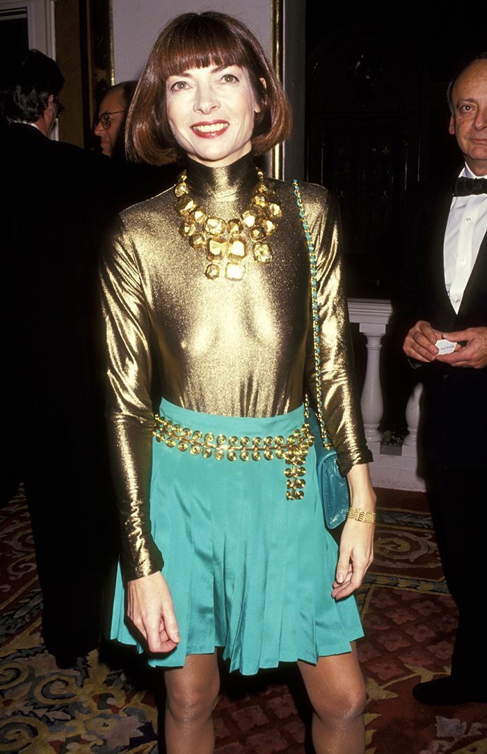 Anna Wintour's '90s Style Is TOTALLY Unrecognizable via @WhoWhatWear