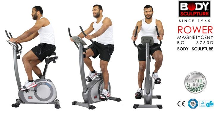 Rower magnetyczny 6760D Body Sculpture.  Livio Victoriano zawodnik MMA.  Trening na rowerze daje możliwość przeprowadzenia treningu zarówno siłowego jak i aerobowego. W zależności od tego czy jest krótki i intensywny (na wysokich biegach), czy dłuższy na niskich biegach - wpływamy albo na przyrost masy mięśniowej albo na wysmuklenie sylwetki i utratę wagi, na przykład przed walką MMA Attack :) http://www.bodysculpture.pl/aktualnosci/wiadomosc/article/rower.html