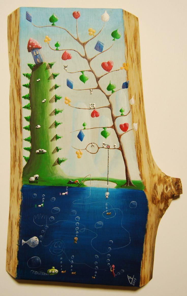 """""""me 16"""" Paweł Widera original paintings, acrylic on wood"""