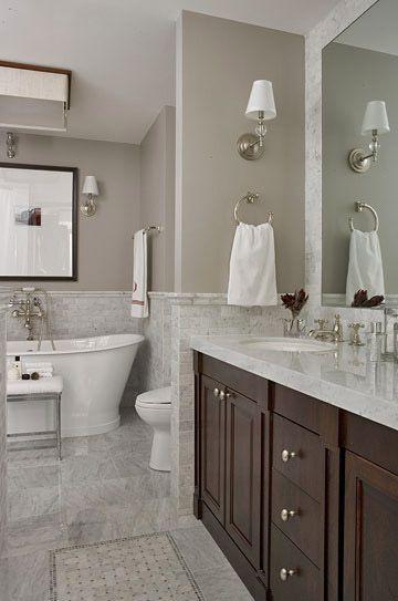 Bathroom Floor Plan Options.. glass shower instead of tub