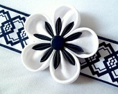 Kanzashi Sakura Cuff Bracelet Japanese Inspired