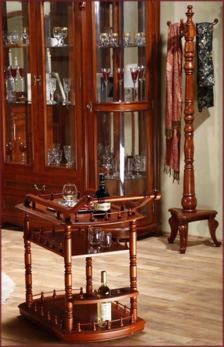 Masuta de servit Sufragerie Elysee: Masuta de servit din lemn masiv pentru Sufragerie