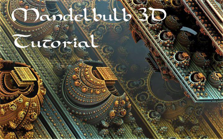 Mandelbulb 3D Tutorial by HalTenny.deviantart.com on @deviantART