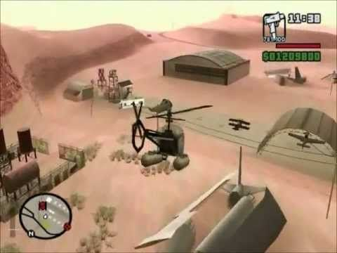 GTA San Andreas: How to Find Four Uncommon Military Vehicles.