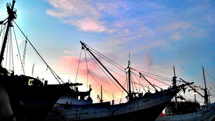 Sunset @sundakelapa jakarta