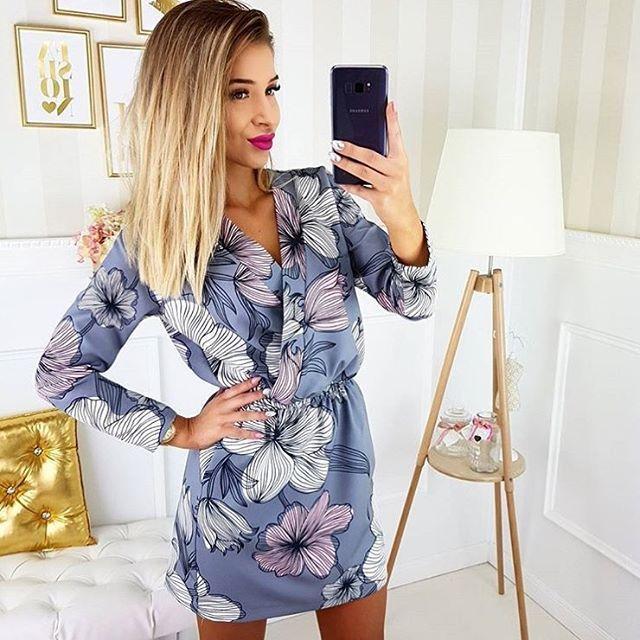 @karolina.banas w naszej sukience ❤️❤️❤️ Trwa rabat -15% i darmowa dostawa na hasło: jesien17 ✌🏼✌🏼#dress #sukienka #polishgirl #girl #love #sukienka #beauty #fashion #ootd style #skleponline #shopping #shop #onlinestore