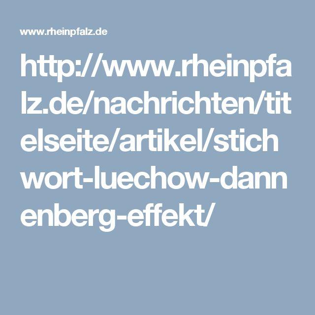 Der Lüchow-Dannenberg-Effekt ist Thema im Studium angehender Polizisten  Unser Neuzugang bei den Wendland-News des Spatzenwebs:  Domain: http://www.rheinpfalz.de URL: http://www.rheinpfalz.de/nachrichten/titelseite/artikel/stichwort-luechow-dannenberg-effekt/ Titel: RHEINPFALZ.de: Stichwort: Lüchow-Dannenberg-Effekt  Weitere Spatzen News: http://www.berliner-spatz.de/news.php#leseliste