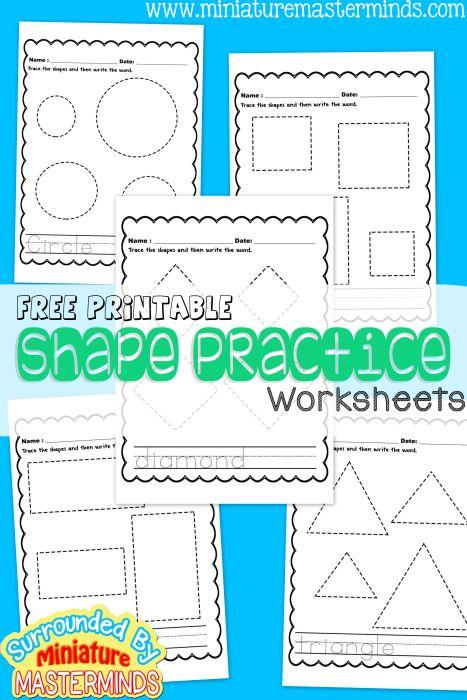 best 25 printable shapes ideas on pinterest shape matching preschool shapes and preschool. Black Bedroom Furniture Sets. Home Design Ideas