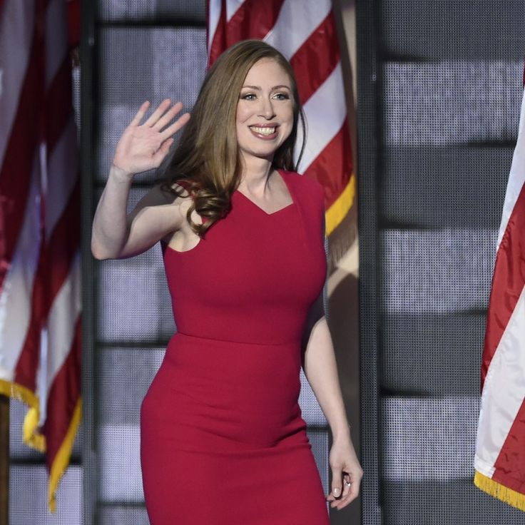 Chelsea Clinton, daughter of Democratic presidential nominee Hillary Clinton, took the stage at the Democratic National Convention on Thursday night to talk about her mother's important role in her life and in the lives of millions of people who have