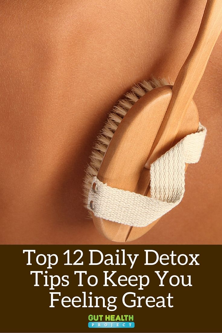 Top 12 Daily Detox Tips To Keep You Feeling Great |