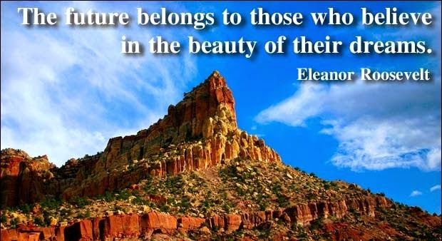 The future belongs to those who believe in the beauty of their dreams - Today Best Quotes